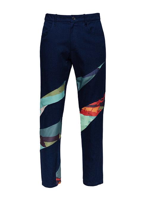 Printed Eucalyptus Trousers