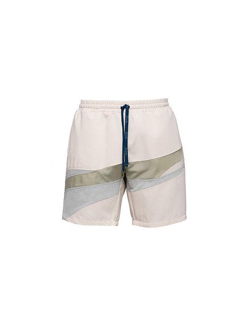 Cream Eucalyptus Shorts
