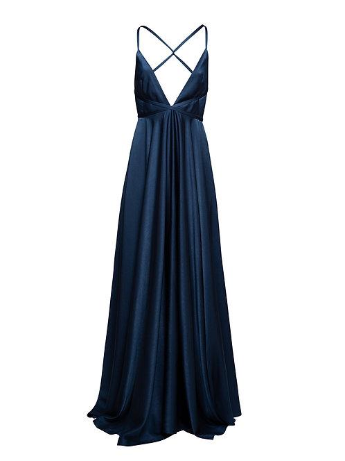 Round Long Dress
