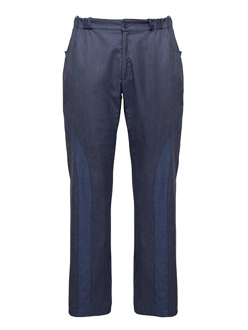 Jeans Trousers w/ Elastic