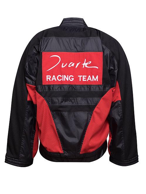 Black Racing Bomber Jacket