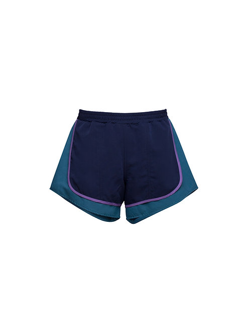 Green & Blue Double Shorts