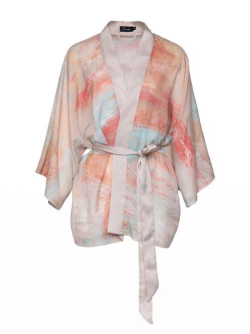 Printed Incahuasi Kimono