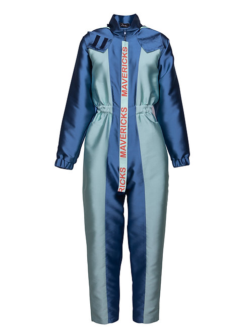 Blue Surf Trip Jumpsuit