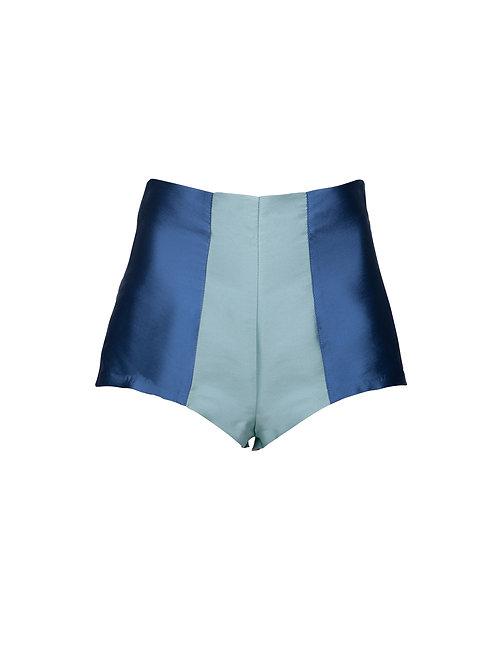 Double Blue Culottes