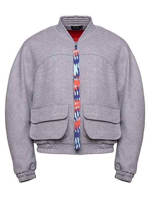 Grey Wave Bomber