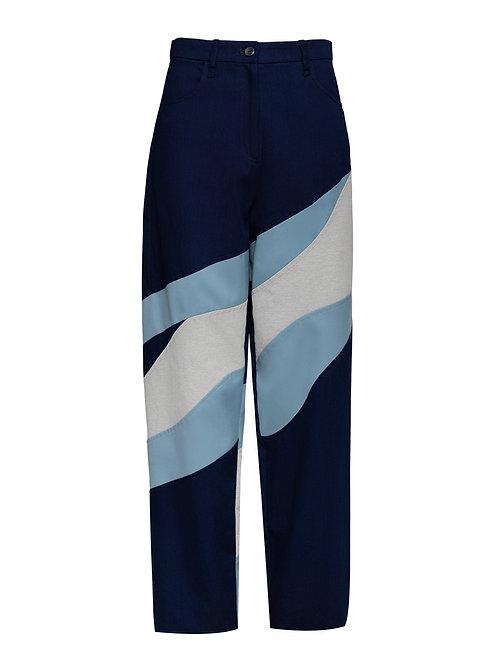 Blue Eucalyptus Trousers