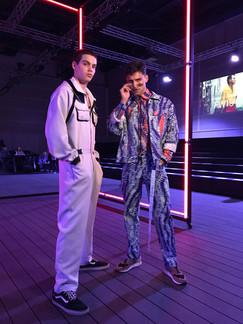 Italian Model Frederico Spinas and Portuguese Model Francisco Faria