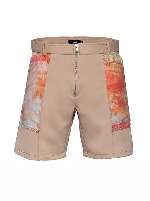 Printed Desert Shorts