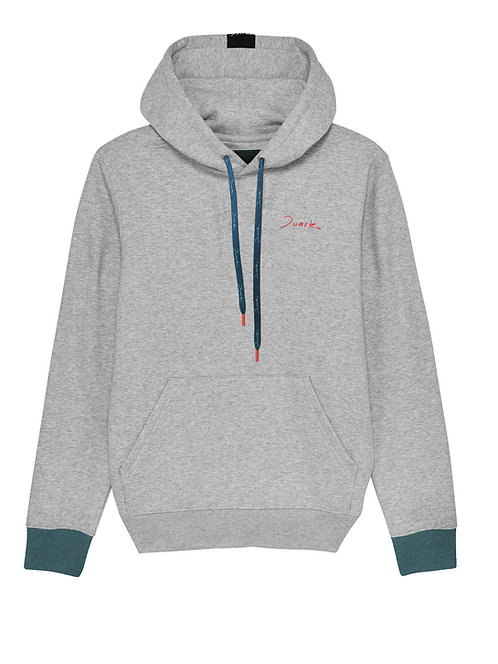 Duarte Grey Hoodie Sweater