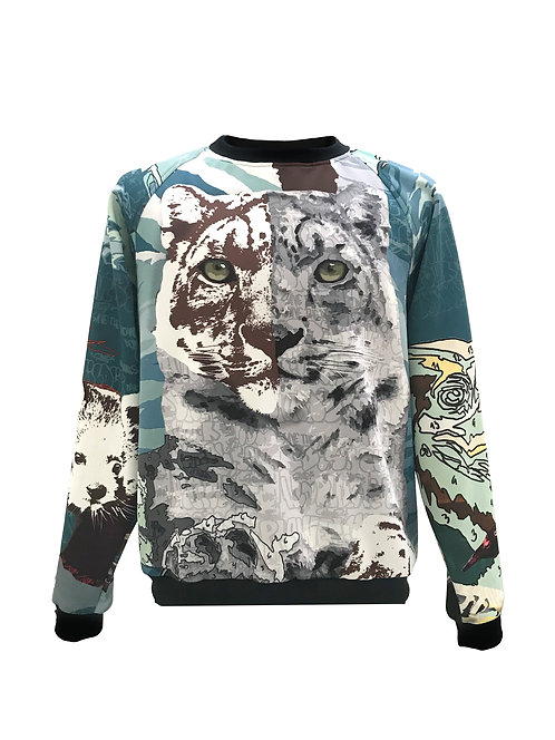 Printed Extinction Sweater