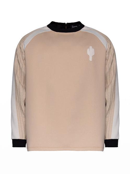 Unisex Camel Cactus Sweater