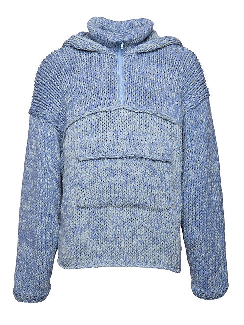 Unisex Knit Hooded Sweater
