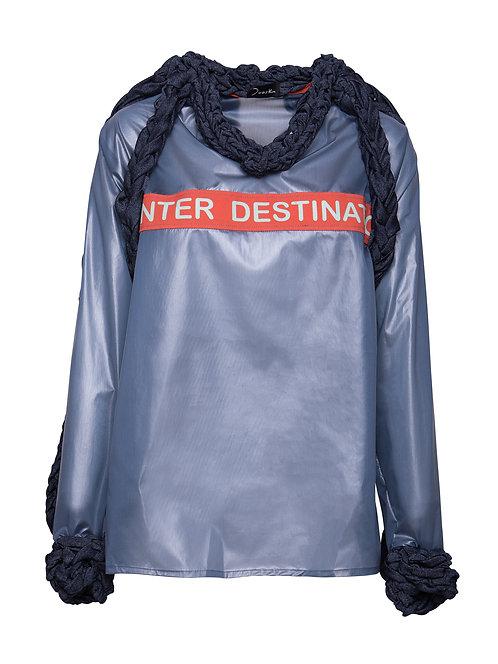 Translucent Winter Destination Sweater