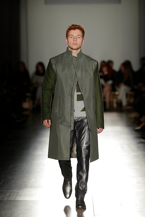 Green Spacer Coat