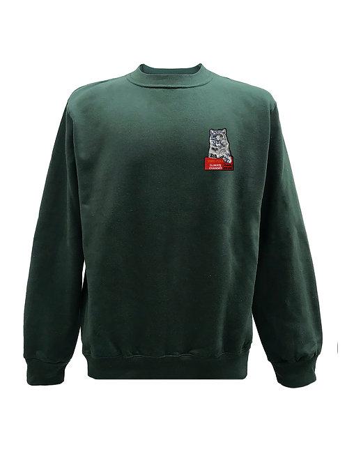 Snow Leopard Extinction Sweater