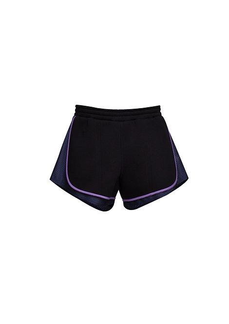 Neoprene Double Shorts