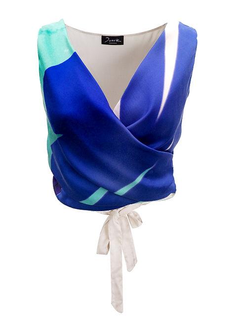 Silk Printed Top