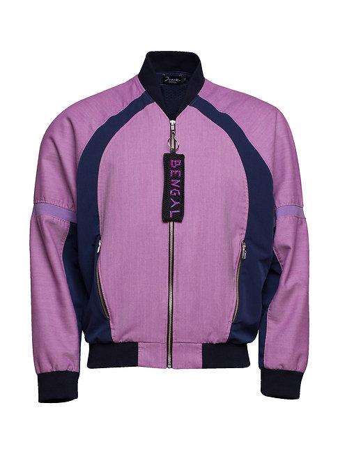 Herringbone Bomber Jacket