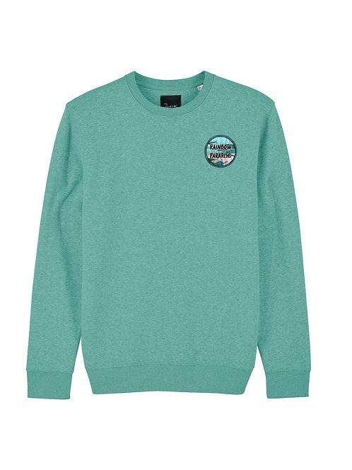 Green Rainbow Paradise Sweater