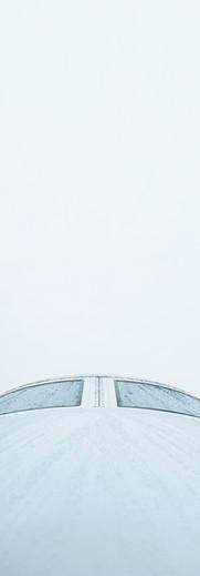 Framsidan av flygplan