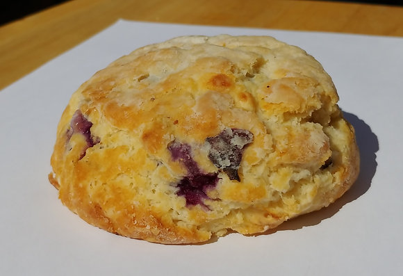 White Chocolate Blueberry Scone
