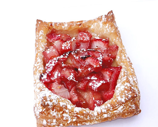 Strawberry Rhubarb Puff Pastry