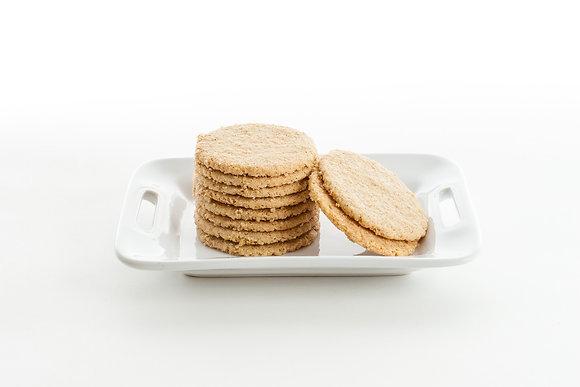 Oat Shortbread Cookies