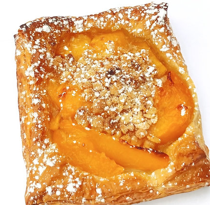 Mango Peach Lime Crumble Puff Pastry