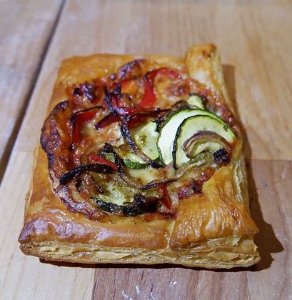 Vegetable Pizza Puff Pastry