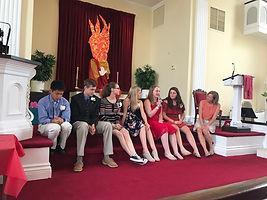 EG Congregational Church Youth Groupl