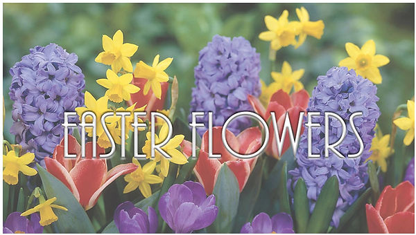 EGCC's Easter Flower Orders