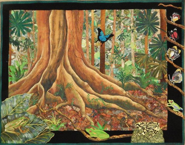 Australian Rainforest Quilt Kit