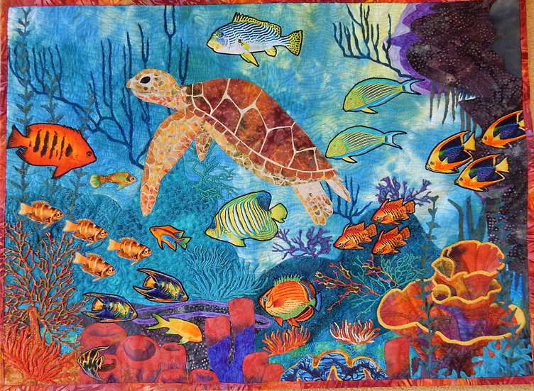 Great Barrier Reef Quilt Kit