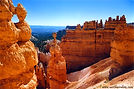 Sunset Point at Bryce Canyon in Utah