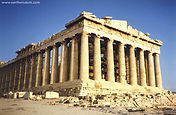 The Parthenon at the Acropolis
