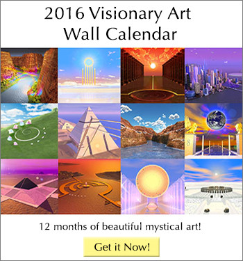 2016 Visionary Art Wall Calendar