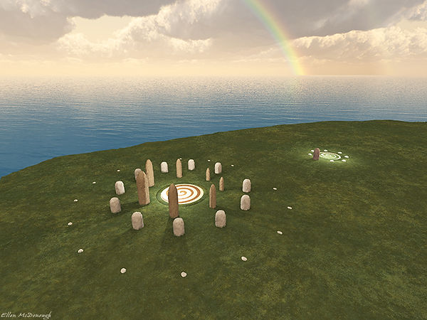 Hy-Brasil stone circle, built by the ancient Atlanteans