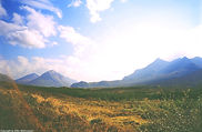 Cuillins Hills on the Isle of Skye, Scotland