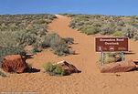 Entrance to Horseshoe Bend in Arizona
