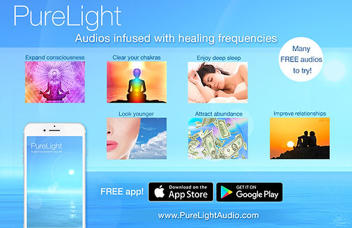PureLight - Audios Infused with Healing Frequencies