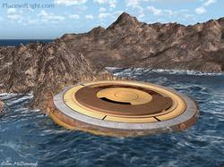 Atlantean Time Travel Disc