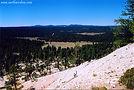 Lush green plains at Bryce Canyon in Utah