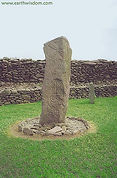 Ogham Stone at Riasc