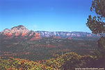 View from Boynton Canyon in Sedona, Arizona