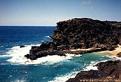 Rocky Coastline in Hawaii