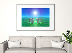 Guiding Light - mystical, inspirational image by PlacesofLight.com sold as art prints, wall art & more