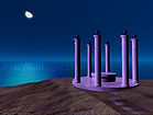 Temple by the Sea - visionary, mystical, fantasy image by Places of Light