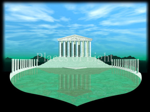 Heart Temple - mystical image by Places of Light