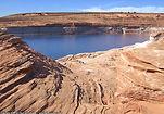 Lake Powell shoreline, Arizona